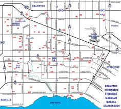 Road Map Of Canada by Mississauga Road Map Map Of Mississauga Roads Ontario Canada