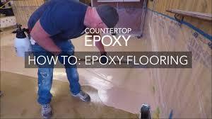 countertop epoxy flooring how to youtube countertop epoxy flooring how to