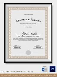 ged template diploma certificate template 26 free word pdf psd eps