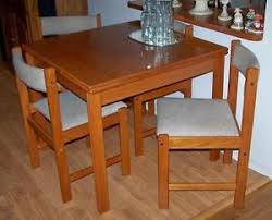 1960 u0027s 70 u0027s danish modern dining teak table 4 chairs compact mid