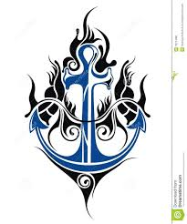anchor tattoo design royalty free stock photo image 33214085