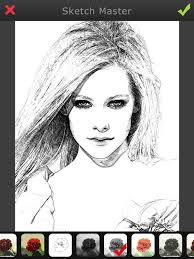 sketch master my cartoon photo filter avatar pad on the app store