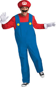 amazon com disguise super mario deluxe mens costume clothing