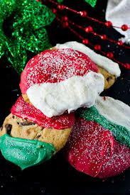 christmas chocolate christmas chocolate chip cookies wanderspice