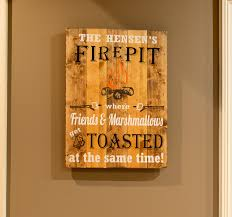 Fire Pit Signs by Diy For Father U0027s Day Wood Signs And Home Decor At Craft Love