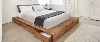 How To Make Platform Bed With Storage Drawers by Storage Bed Laxseries