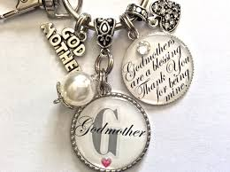 godmother keychain godmother gift my my godmother will you be my