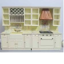 miniature dollhouse kitchen furniture dollhouse miniature 1 12 scale wide bay window and white