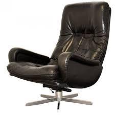 vintage james bond de sede swivel lounge armchair 1960 s