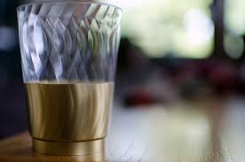clear plastic cups for wedding wedding disposable gilded plastic cups a side of sweet
