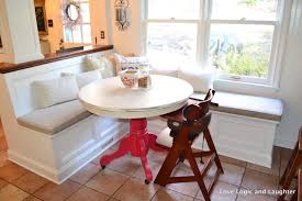 trendy built in bench for kitchen table 33 how to build a built in