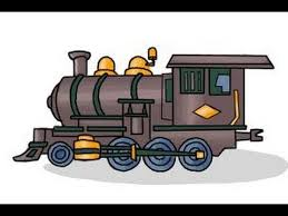 how to draw a steam train youtube