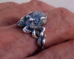 antique octopus ring holder images Octopus ring etsy jpg