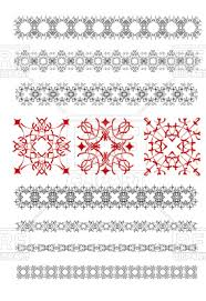 ornamental rule lines and borders vector clipart image 100700