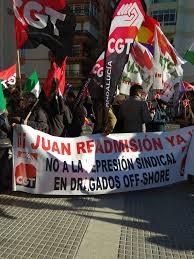 Huelga Flag Apoyo A Los Trabajadores En Huelga De Hambre De Algesa Algecira