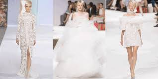 couture wedding dresses the best couture wedding gowns from the fall 2016 runways the