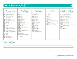 Vermont traveling checklist images 30 days of free printables travel checklist merlot mommy jpg