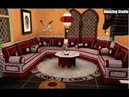 marokkanische möbel großes sofa - Marokkanische Sofa