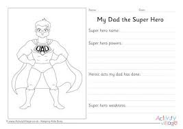 my family topic printables for children