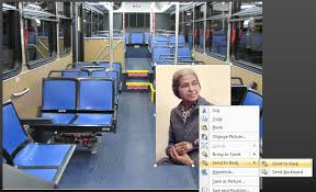 Rosa Parks Meme - to the back with you imgur