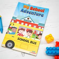 Personalised Keepsake Story Book For Children By My My School Adventure Personalised Book Birthday Gift