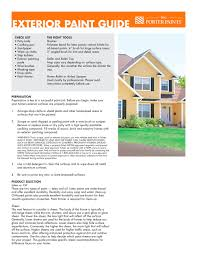 exterior paint guide porter paints pdf catalogues