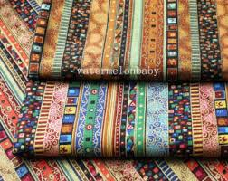 Upholstery Supplies Canada Bohemian Fabric Etsy
