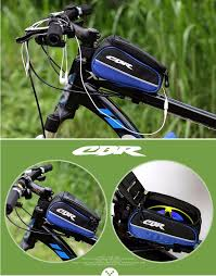cbr bike cost cbr car beam bag storage bicycle bike frame bag for phone 5 5 inch