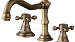Antique Bronze Bathroom Faucet Brilliant Prefessional Single Hole Antique Bronze Bathroom Fixtures