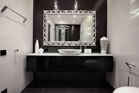 Black And White Bathroom Decor Ideas Colors Begovaya By Geometrix Design