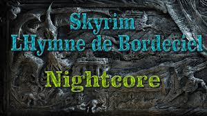 femme de chambre argonienne nightcore lhymne de bordeciel