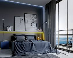 Black And Blue Bedroom Designs by 30 Masculine Bedroom Ideas Freshome