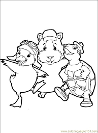 pets coloring page wonder pets 34 coloring page free the wonder pets coloring pages