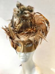 Owl Halloween Mask by Owl Mask Bird Mask Mardi Gras Mask Masquerade Mask