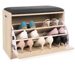 Shoe Shelf Bench by Budget Shoe Cabinets Storage Ideas