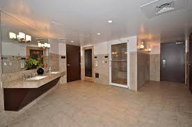 good basement floor ideas with hanging cabinet also spacious