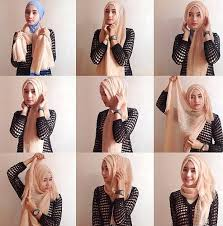 tutorial hijab segi empat paris simple tutorial hijab paris segi empat simple dian pelangi info kebaya modern