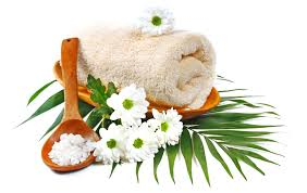 spa images hd flower towel camomile relaxing flowers salt daisy spa flower