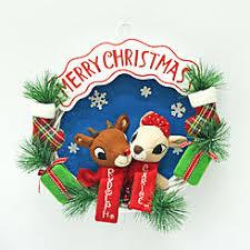 rudolph rednosed reindeer clarice plush reindeer