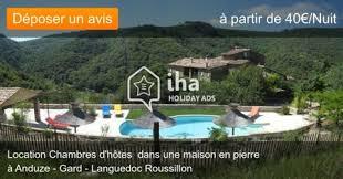 anduze chambre d hotes chambres d hôtes à anduze iha 41828