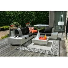 outdoor patio sectional sofas wayfair ca