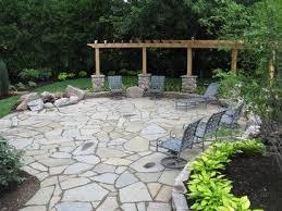Fantastic Flagstone Patio Design Ideas - Backyard stone patio designs