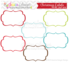 instant download christmas labels tag clipart printable labels