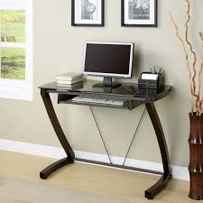 Glass Top Computer Desks For Home Best Small Glass Top Computer Desk Small Glass Top Computer Desk