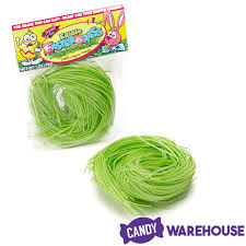 bulk easter grass edible easter grass 1 ounce bag candywarehouse