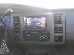 kevin gets a double din in his 2002 durango dodgeforum com