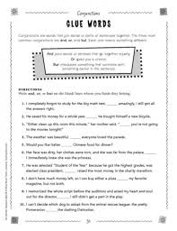 conjunction worksheets 5th grade free worksheets library