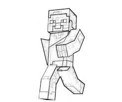minecraft character yumiko fujiwara minecraft coloring