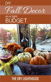 lighthouse home decor fall decor inspiration for a tight budget the diy lighthouse