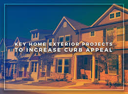 Increasing Curb Appeal - key home exterior projects to increase curb appeal